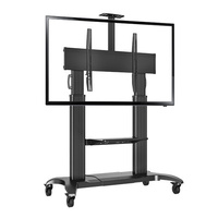 Heavy Duty Mobile TV Stand CF 100 - Black first thumb image