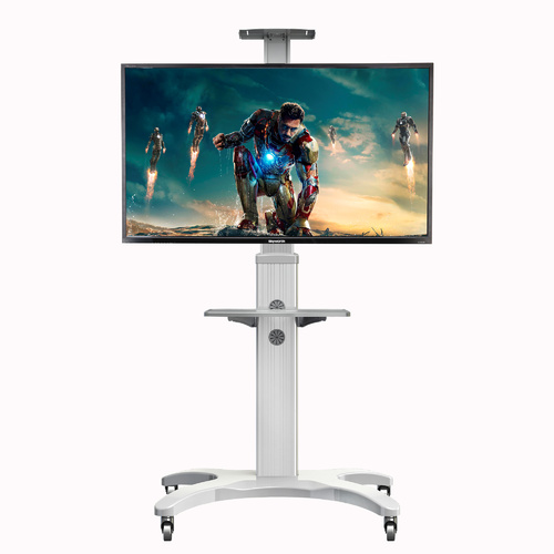 Mobile TV Cart AVF1500-50-1P White